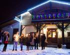 шале новый год отдых зимой в гостевом дворе двенадцать месяцев